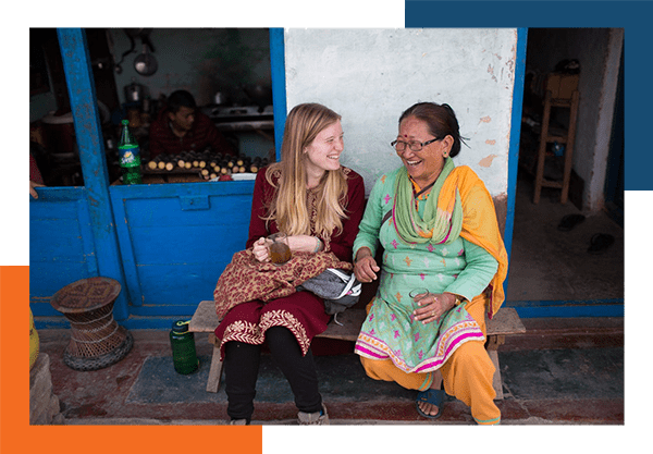 Missionary-and-her-local-friend-having-a-cup-of-tea